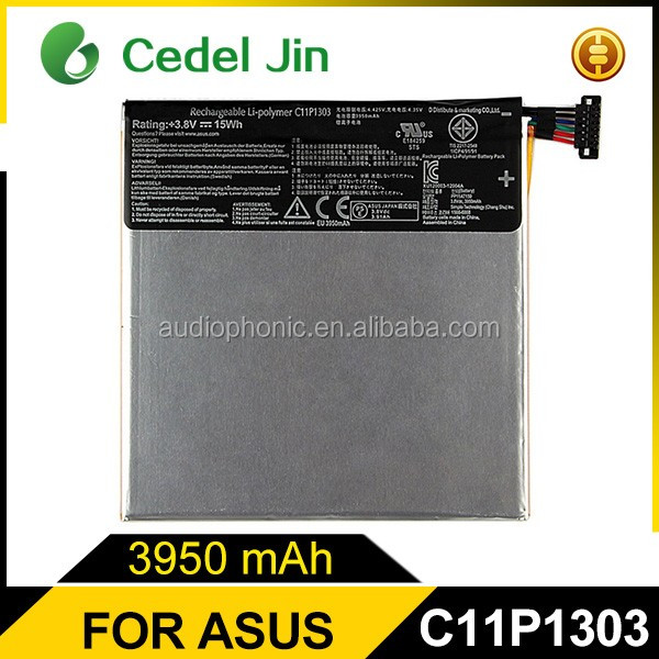 New arrived tablet parts li-ion battery for asus google asus google nexus 7