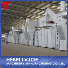 modern plasterboard production plant with advanced technology