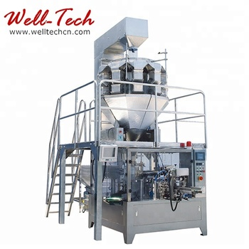 WT6/8-200/300-S Rotary Weighing & Packaging Line for Solid or Grain Packaging Machine