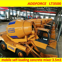 best mobile concrete mixing truck made in China JiNing Addforce brand
