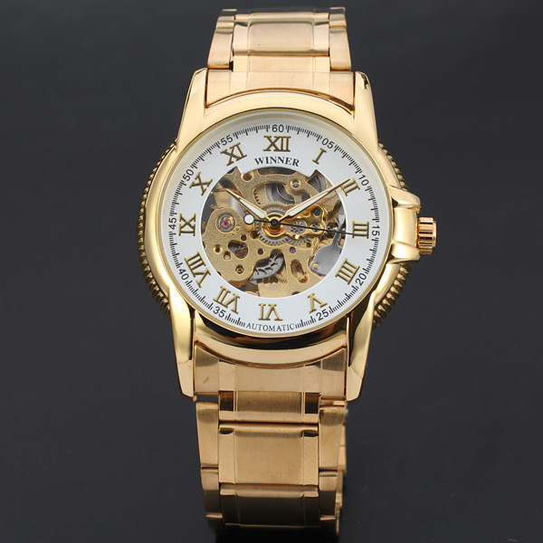 Offer Service OEM Mens Automatic Watch Winner