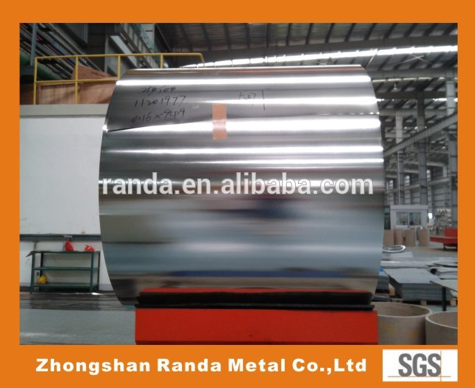 Electrolytic Chromium Coated Plate TFS Tin Free Steel