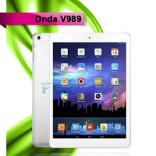 9.7 inch 2048*1536p tablet pc TFT 8000mAh battery OTG GPS 2GB/32GB Onda V989 Octa-core tablet pc