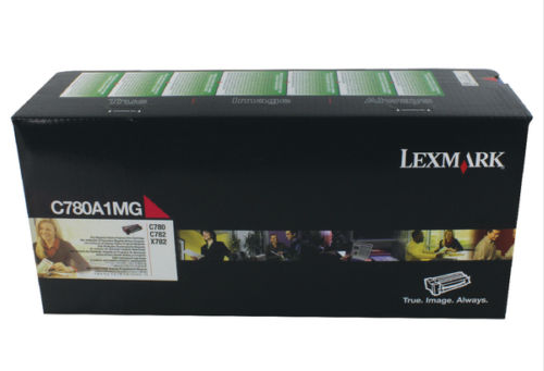 OEM Genuine Lexmark C780/C782/X782E Return Programme Laser Toner Cartridge Magenta C780A1MG