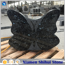 Blue Butterfly Granite Headstone Prices for UK