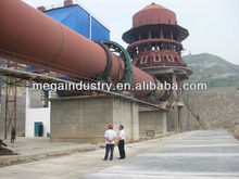 China top quality cement/lime rotary kiln 100TPD~1000TPD
