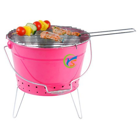 Food grade galvanized grill barbecue basket