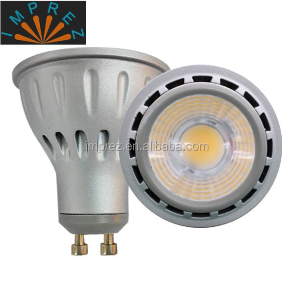 AC85-265V 6W 7W 8W COB GU10 led down <strong>spotlights</strong>