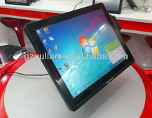 Fanless capacitive touch screen tablet pc/15'' multi touch pc/15'' water proof tablet computer