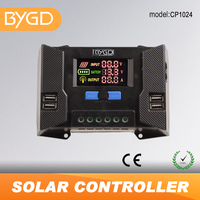 BYGD 10A cheap 12v best solar charge controller regulator