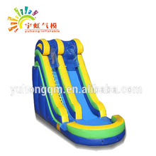 Top quality commercial inflatable slide with pool from China