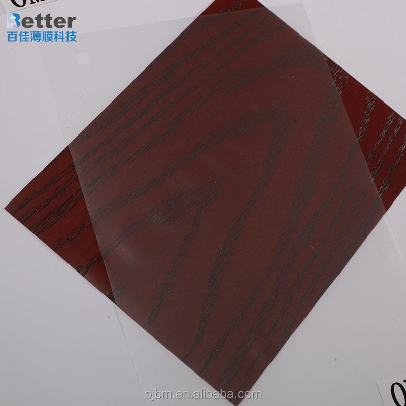 Printing colorful PVC film for decoration