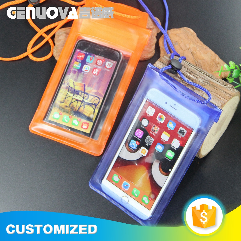New arrival product fashion fancy style waterproof cell phone bag