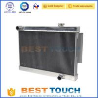 Oversized Alumium oem aluminum radiator tank made in china