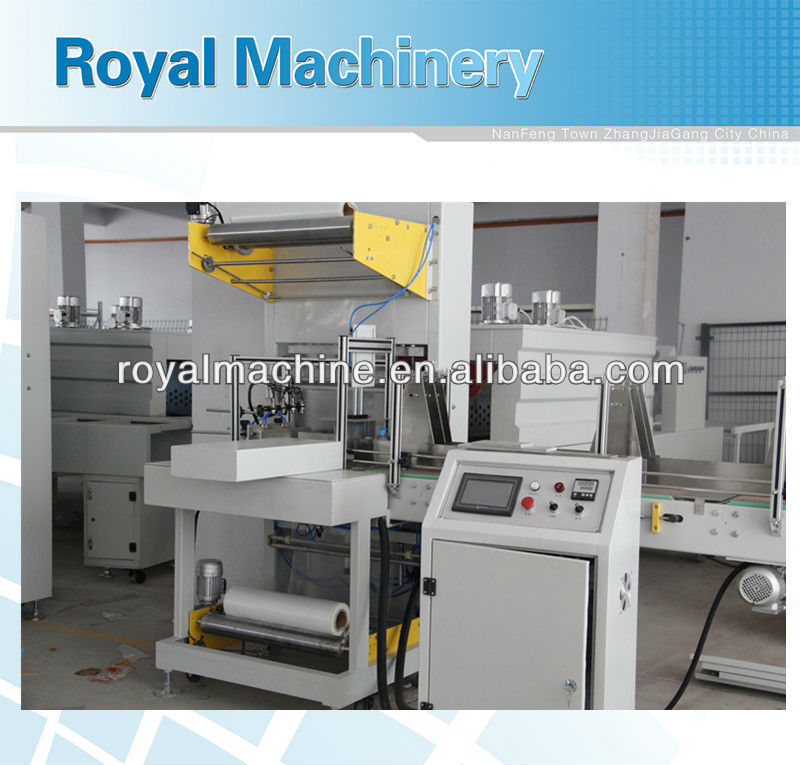 Automatic shrink film packing machine