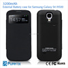 Newest Ultra-thin Battery Power Pack Case 3200mAh Backup Power Bank Charger Case For Samsung Galaxy S4 i9500
