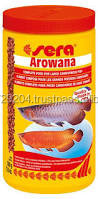 sera fish food arowana red