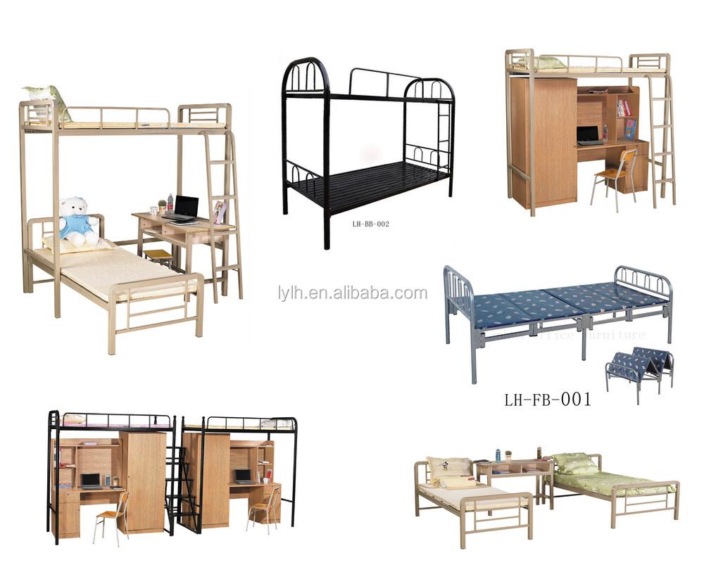 사용 스틸 더블 침대 기숙사 이층 침대-금속 침대 -상품 ID ...