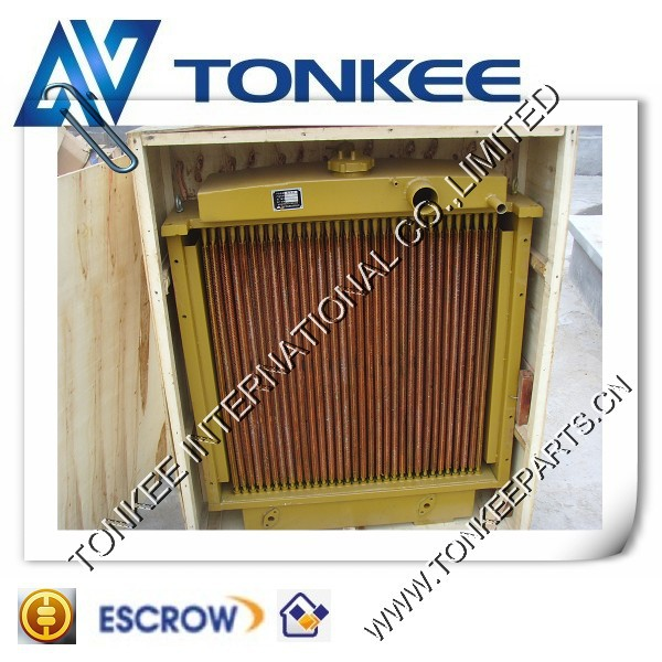 made in China high quality KOBLECO DOOSAN EXCAVATOR OIL RADIATOR WATER RADIATOR