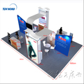 Detian Offer module exhibition stand panel free standing display unit fair stand exhibition booth