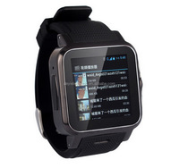 Service supremacy crazy selling Z15 ultra slim android4.4 smart watch phone with free cellphone holder