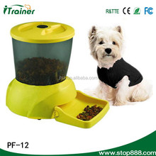 PF-12 new fashion pet feeder with time setting,dog food dispensor