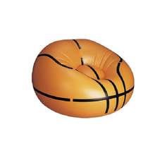 China wholesale new design aduit children Pvc inflatable basketball sofa chair popular inflatable sofa folding chair EN71 factor