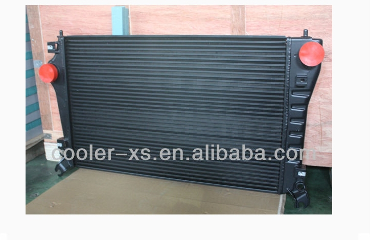aluminum heavy truck spare parts intercooler supplier