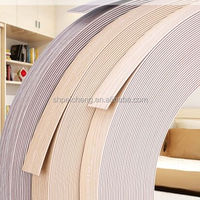exported Euro solid color pvc edge banding for high quality furniture trim/trimmer