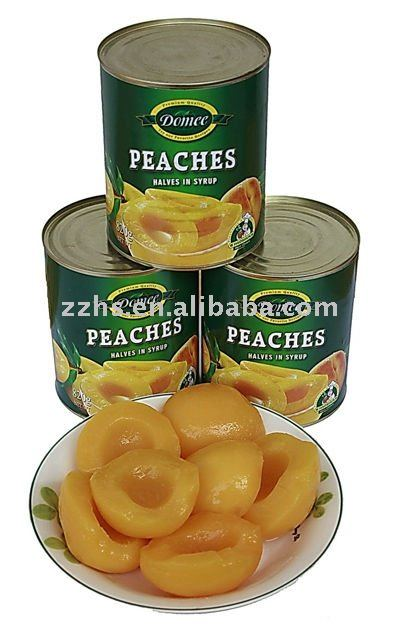 Canned Yellow Peaches Slices in Light /Heavy Syrup