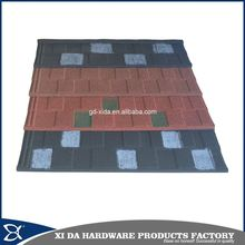 Colorful stone coated metal roofing shingles , aluminium zin materials corrugated roofing sheet