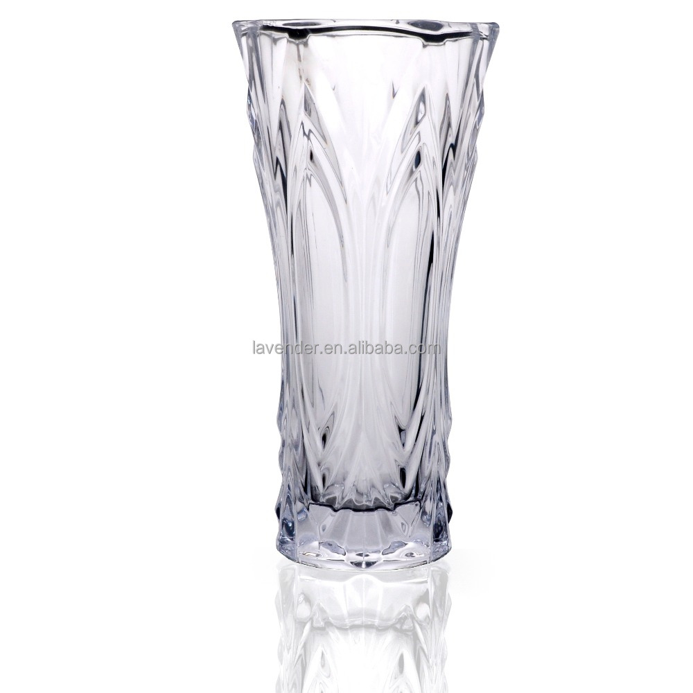 hot sell cheap glass castle vase decorative flower vase