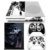 Vinyl decals for XboxOne S console and two controller cover custom protective skin stickers