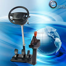 New educational equipment 3d train driving simulator for driving school