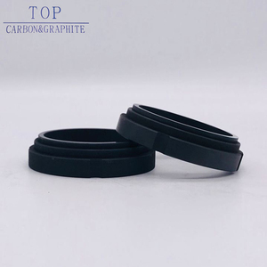 China Made silicon carbide mechanical carbon seal quality first graphite sealing ring pure / gasket
