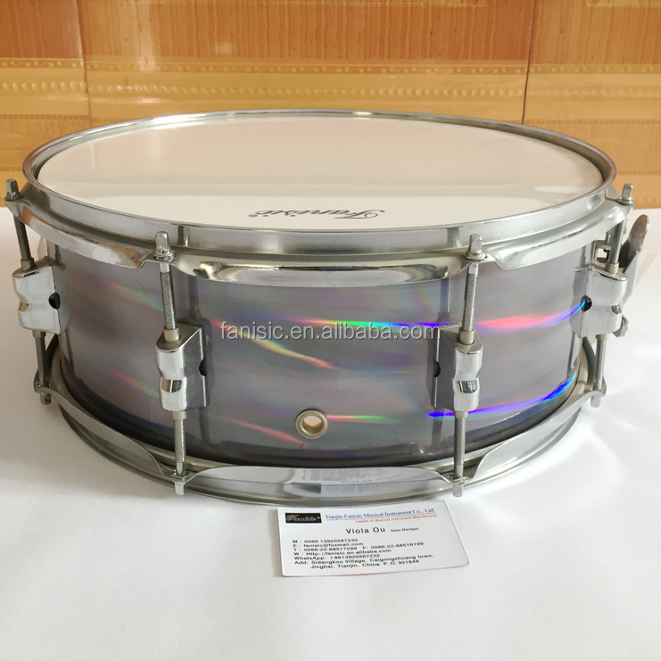 Radium and celluloid snare drum/Dazzling Color Drum