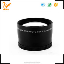 fixed focus lens type and telephoto len
