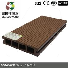 2015 Outdoor WPC Popular decking from China composite decking kc with great price