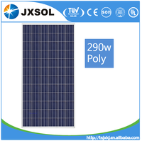 High quality low price elaborate process perfect service Chinese 36V solar panel 290w poly