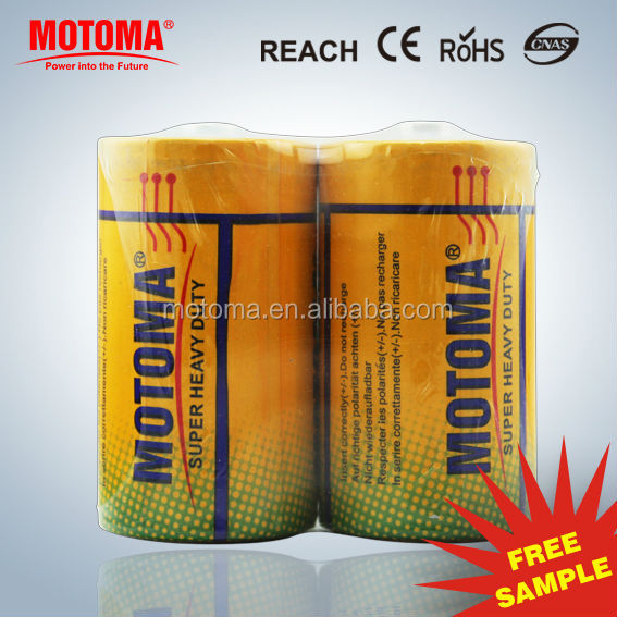 1.5v D size R20 Zinc Chloride Cell low price cheap dry batteries