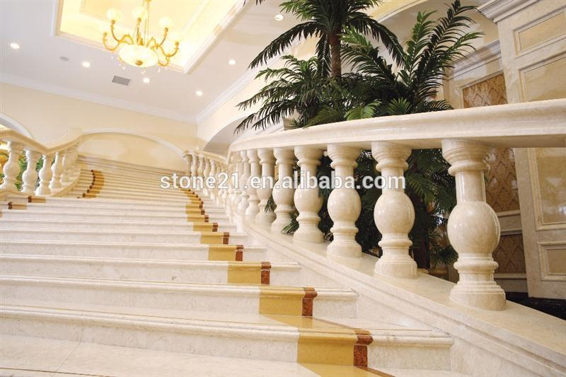 Great Price Travertine Stair Treads Passenger Stair