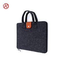 Personalized free sample polyester felt laptop bag for promotion