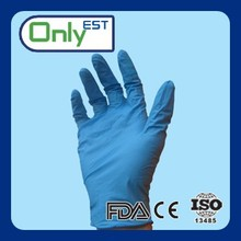 CE/ISO/FDA certificated disposable anti cut 6mil mechanic nitrite gloves