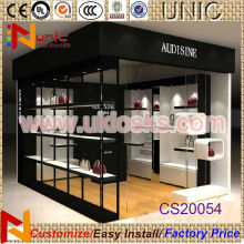 2014 high quality wooden bag kiosk/bag display showcase hand bag retail kiosk for sale