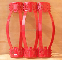 API 10D oilfield centralizer rigid casing centralizer