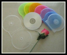 Transparent CD DVD Clam shell Case Plastic colorful