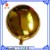 Shenzhen Manufacturer Wholesale 18 inch Gold Foil Balloon Round Shaped Balloon