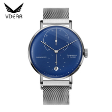 Cheap automatic sweep second hands watch luxury men chronograph watch mechanical with energy function