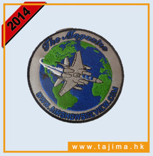 helicopter embroidery patches made in China