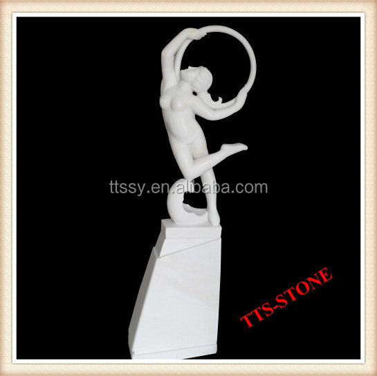 Outdoor decoration abstract figure statue